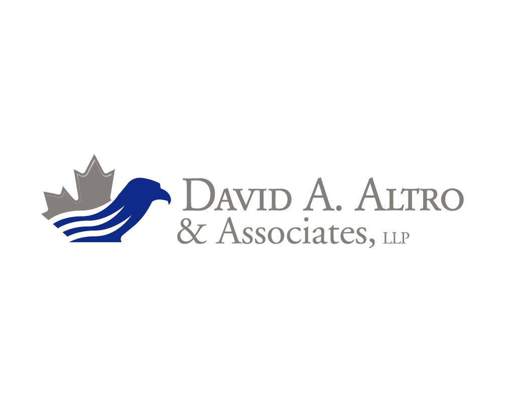 logo design for cross border tax law firm