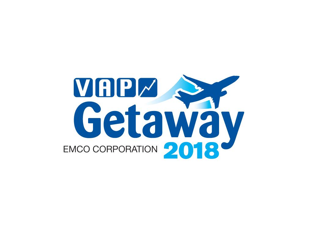 logo for getaway promotion